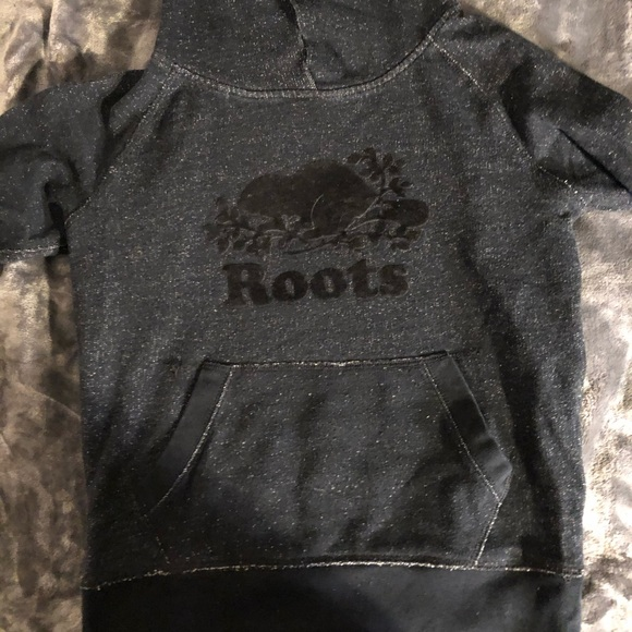 Roots Black Salt and Pepper Pullover